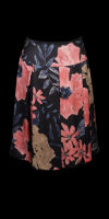 Chelsea Melbourne Silk Print Skirt